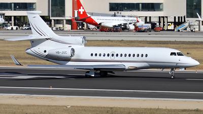 HB-JUC - Dassault Falcon 7X - Private