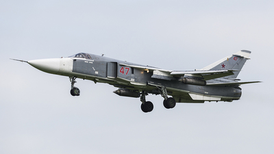 RF-95091 - Sukhoi Su-24M Fencer - Russia - Air Force