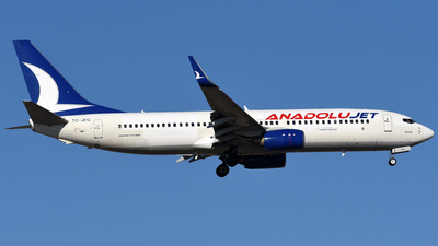TC-JFG - Boeing 737-8F2 - AnadoluJet