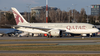 A picture of A7BCD - Boeing 7878 Dreamliner - Qatar Airways - © Grzesiek Krupa