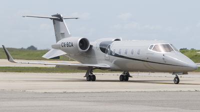 CX-SCA - Bombardier Learjet 60 - Aeromás