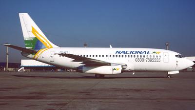 PR-NCT - Boeing 737-2K9(Adv) - Nacional Linhas Aéreas