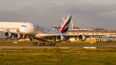 F-WWAU - Airbus A380-842 - Emirates