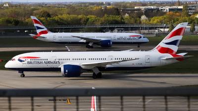 A picture of GZBJM - Boeing 7878 Dreamliner - British Airways - © subing27