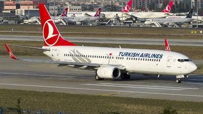 A picture of TCJGH - Boeing 7378F2 - [34406] - © Alp AKBOSTANCI