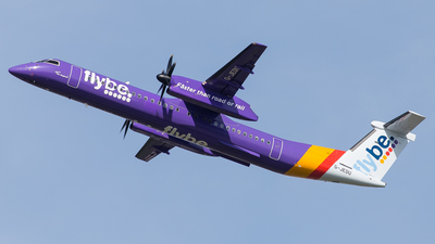 G-JEDU - Bombardier Dash 8-Q402 - Flybe