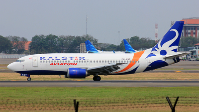 PK-KST - Boeing 737-3M8 - Kalstar Aviation