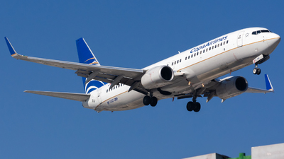 HP-1537CMP - Boeing 737-8V3 - Copa Airlines