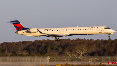 N185GJ - Bombardier CRJ-900LR - Delta Connection (GoJet Airlines)