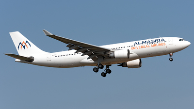 SU-TCH - Airbus A330-203 - Almasria Universal Airlines