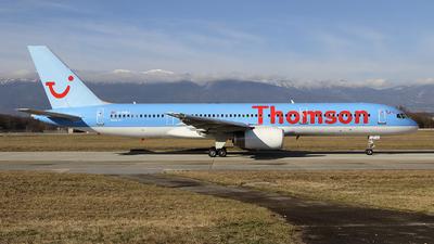 G-OOBJ - Boeing 757-2B7 - Thomson Airways