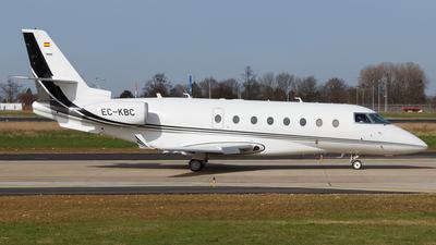 EC-KBC - Gulfstream G200 - Tag Aviation España