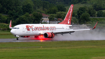 A picture of TCTJP - Boeing 7378BK - Corendon Airlines - © Furkan ERTIN