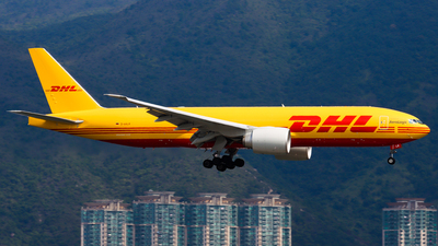 A picture of DAALR - Boeing 777F - DHL - © Chow Kin Hei - AHKGAP