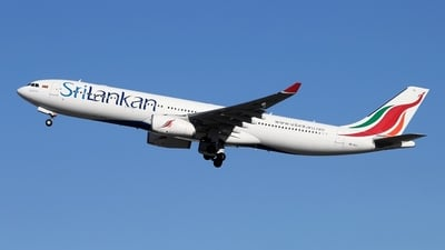 4R-ALL - Airbus A330-343 - SriLankan Airlines