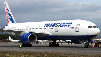 EI-UNY - Boeing 777-222 - Transaero Airlines