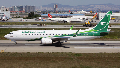 YI-ASK - Boeing 737-81Z - Iraqi Airways