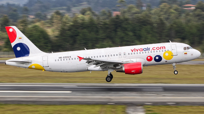 HK-5223-X - Airbus A320-214 - VivaColombia