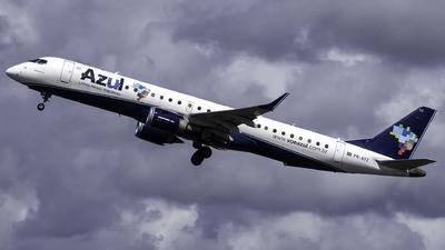 A picture of PRAYZ - Embraer E195AR - Azul Linhas Aereas - © Davi P. Ribeiro