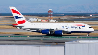 G-XLEB - Airbus A380-841 - British Airways