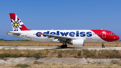 HB-JJM - Airbus A320-214 - Edelweiss Air