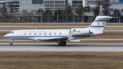 9K-GGB - Gulfstream G650 - Kuwait - Government