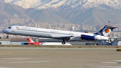 EP-CPZ - McDonnell Douglas MD-83 - Caspian Airlines