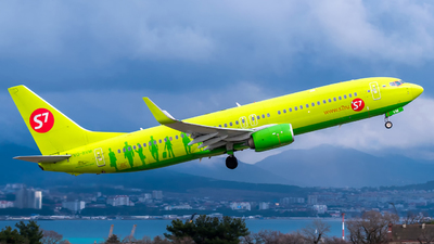 A picture of VQBVM - Boeing 7378GJ - S7 Airlines - © Alexander Lebedev