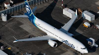 N60697 - Boeing 737-9 MAX - Alaska Airlines