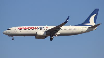 TC-SAV - Boeing 737-8GJ - AnadoluJet