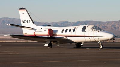 N82AJ - Cessna 501 Citation SP - Private