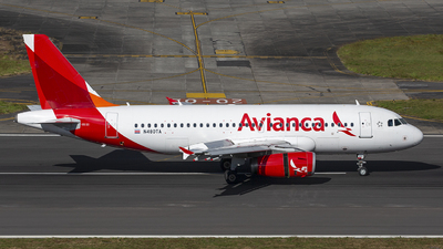 A picture of N480TA - Airbus A319132 - Avianca - © Hansen Gt