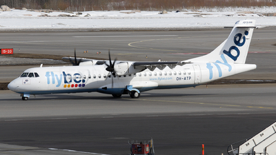 OH-ATP - ATR 72-212A(500) - Flybe Nordic