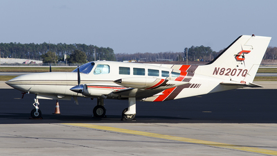 A picture of N8207Q - Cessna 402B - [402B0387] - © Westley Bencon