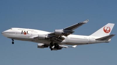 JA8082 - Boeing 747-446 - Japan Airlines (JAL)