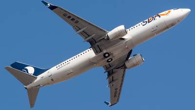A picture of B5546 - Boeing 73786N - Shandong Airlines - © BobH