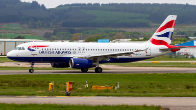 A picture of GEUYB - Airbus A320232 - British Airways - © Ethan Hew - p_nilly
