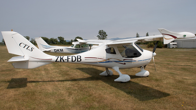 ZK-FDB - Flight Design CTLS - Private