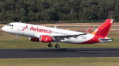 VQ-BXS - Airbus A320-214 - Avianca