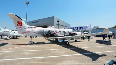 A picture of HBFVI - Pilatus PC12/47E - Pilatus Flugzeugwerke - © hakunamatata
