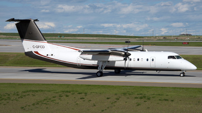 A picture of CGFCD - De Havilland Canada Dash 8300 - Sunwest Aviation - © 10wingz