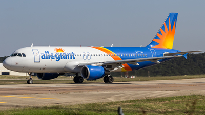 A picture of N277NV - Airbus A320214 - Allegiant Air - © Centex Spotter