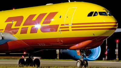 D-ALMD - Airbus A330-243F - DHL (European Air Transport)