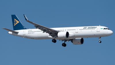 P4-KDF - Airbus A321-271N - Air Astana