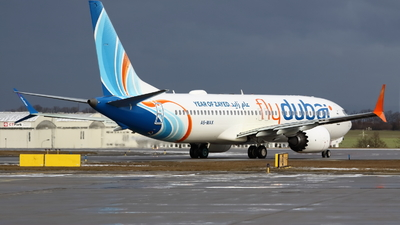 A picture of A6MAX - Boeing 737 MAX 8 - FlyDubai - © Manh Nguyen Duc