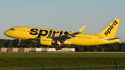 N922NK - Airbus A320-271N - Spirit Airlines