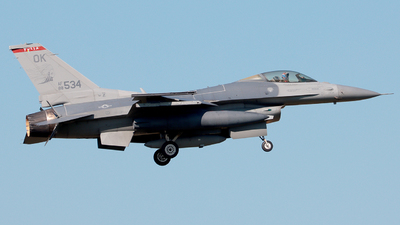 88-0534 - General Dynamics F-16C Fighting Falcon - United States - US Air Force (USAF)