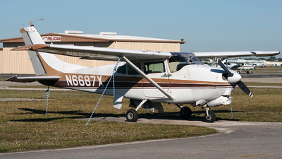 A picture of N6687X - Cessna 210A Centurion - [21057687] - © Erlend Karlsen