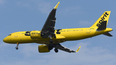 A picture of N915NK - Airbus A320271N - Spirit Airlines - © DJ Reed - OPShots Photo Team