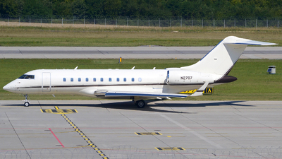 N2707 - Bombardier BD-700-1A11 Global 5000 - Private